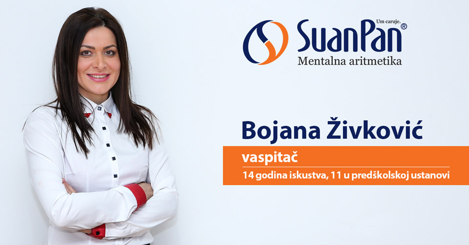Predavač mentalne aritmetike Bojana Živković