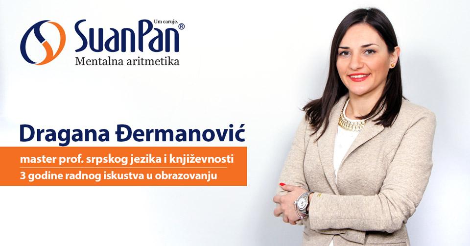 Predavač mentalne aritmetike Dragana Đermanović