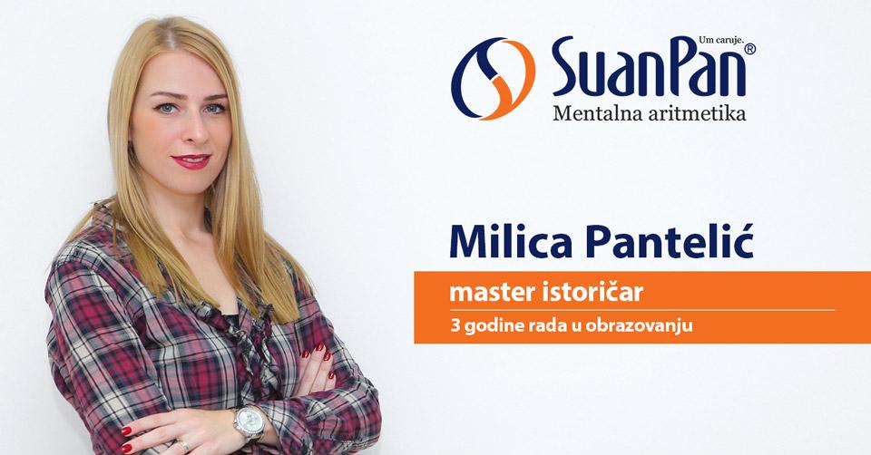 Predavač mentalne aritmetike Milica Pantelić