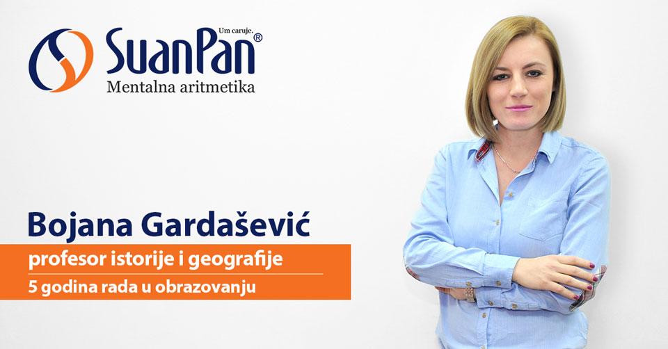 Predavač mentalne aritmetike Bojana Gardašević