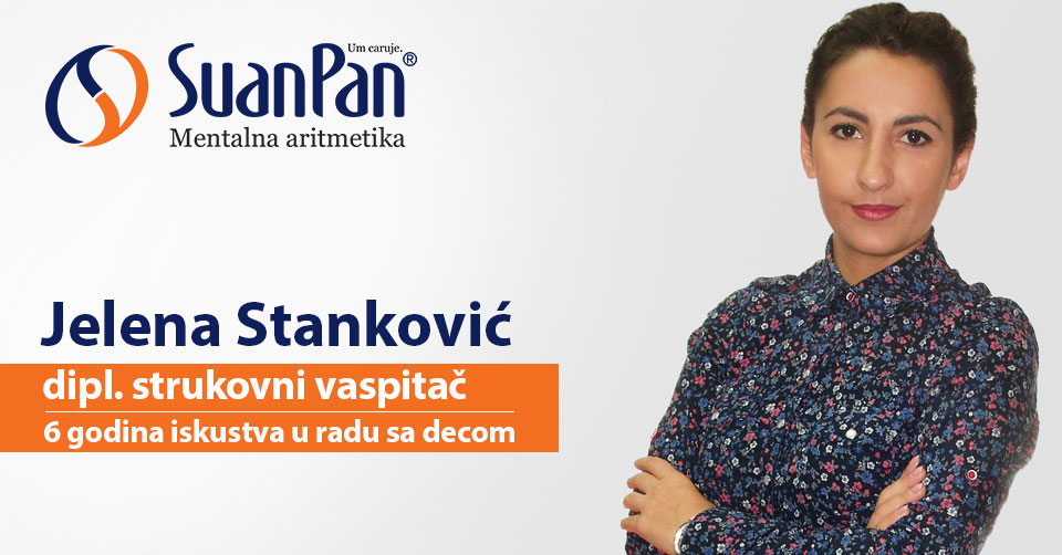 Predavač mentalne aritmetike Jelena Stanković