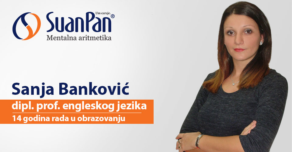 Predavač mentalne aritmetike Sanja Banković
