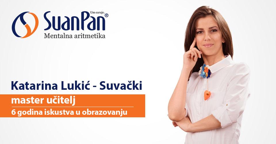 Predavač mentalne aritmetike Katarina Lukić Suvački