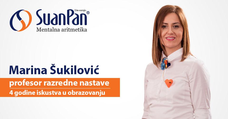 Predavač mentalne aritmetike Marina Šukilović