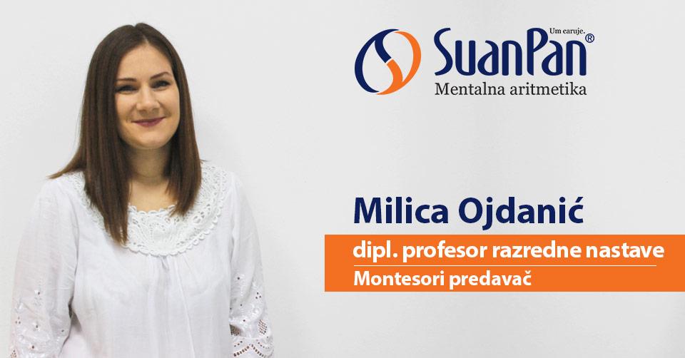 Predavač mentalne aritmetike Milica Ojdanić