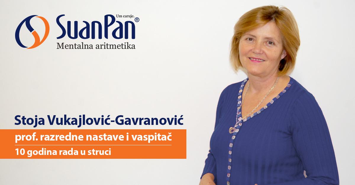 Predavač mentalne aritmetike Stoja Vukajlović-Gavranović