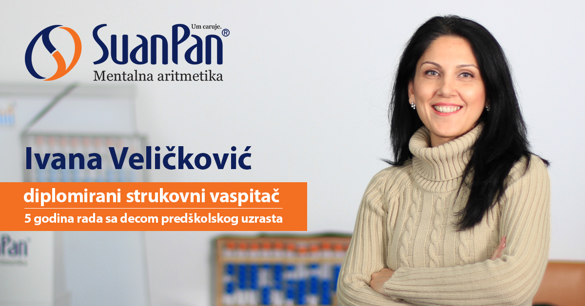 Predavač mentalne aritmetike Ivana Veličković