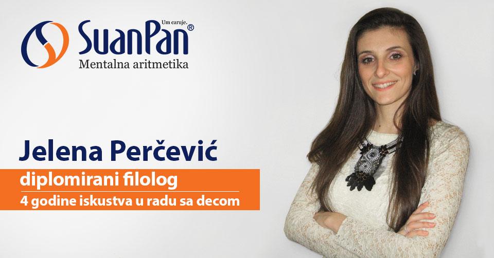 Predavač mentalne aritmetike Jelena Perčević