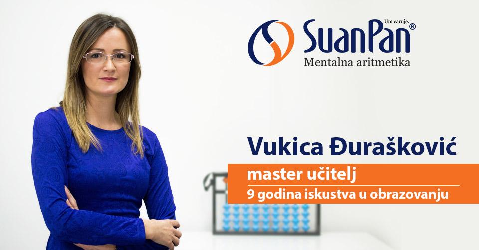 Predavač mentalne aritmetike Vukica Đurašković