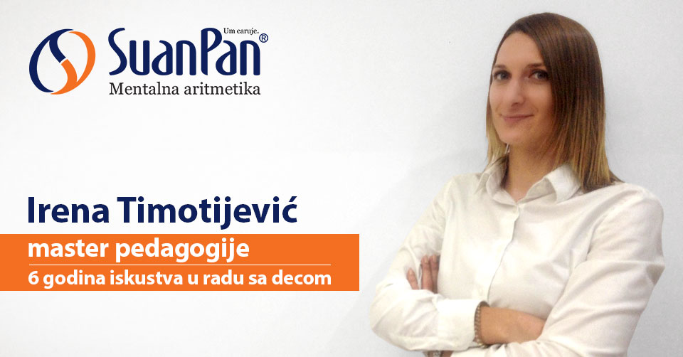 Predavač mentalne aritmetike Irena Timotijević