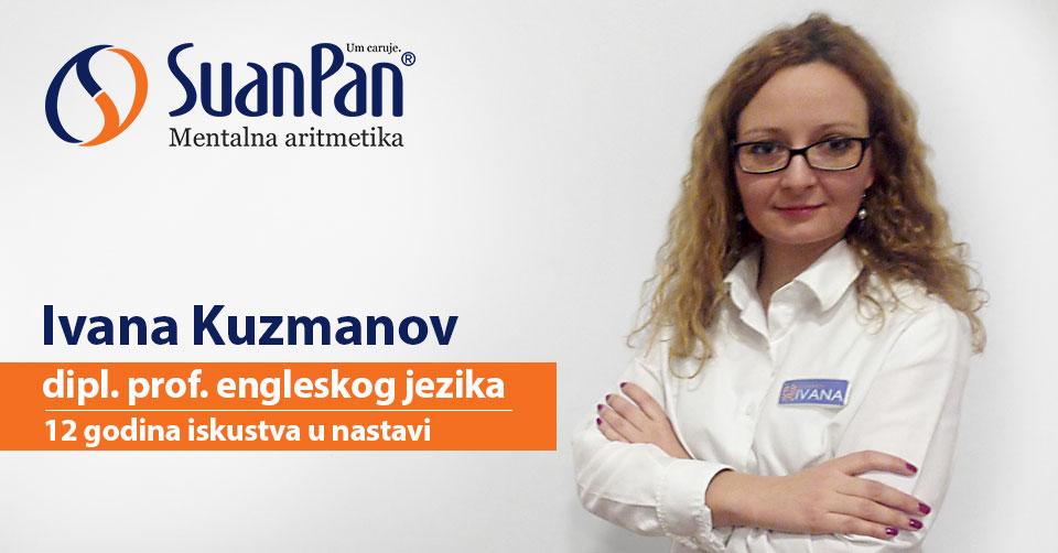 Predavač mentalne aritmetike Ivana Kuzmanov