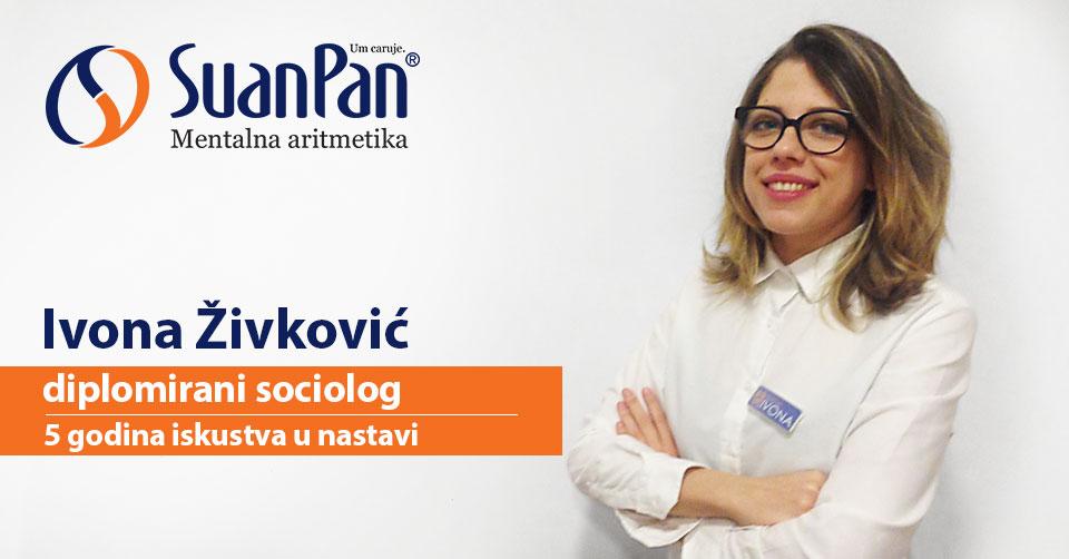 Predavač mentalne aritmetike Ivona Živković