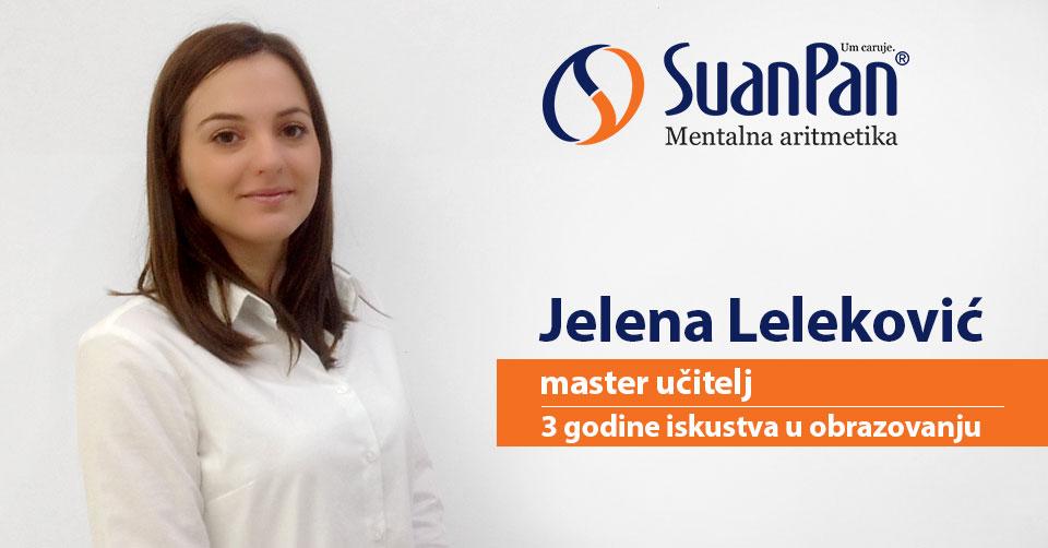 Predavač mentalne aritmetike Jelena Leleković