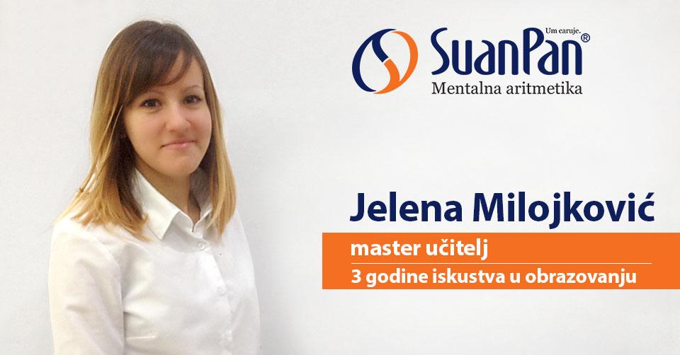 Predavač mentalne aritmetike Jelena Milojković