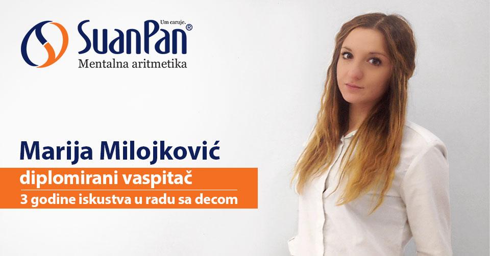 Predavač mentalne aritmetike Marija Milojković