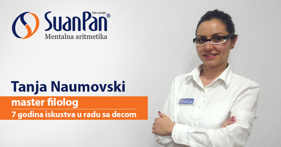 Predavač mentalne aritmetike Tanja Naumovski