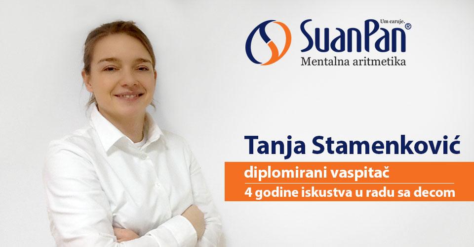 Predavač mentalne aritmetike Tanja Stamenković