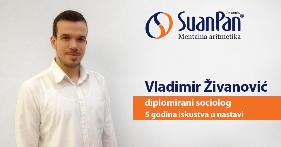 Predavač mentalne aritmetike Vladimir Živanović