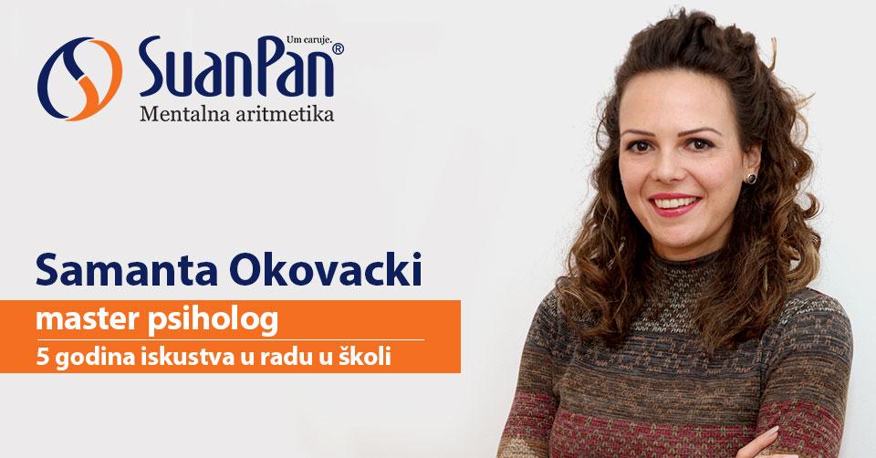 Predavač mentalne aritmetike Samanta Okovacki