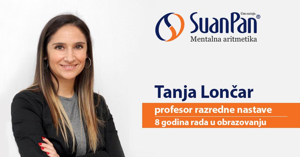 Predavač mentalne aritmetike Tanja Lončar