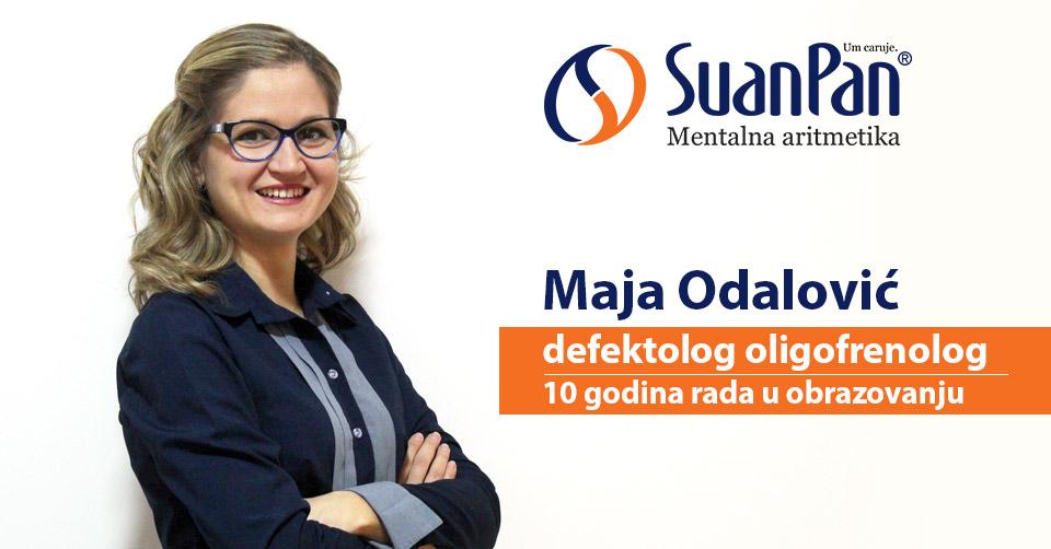 Predavač mentalne aritmetike Maja Odalović