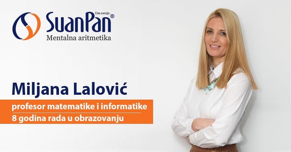 Predavač mentalne aritmetike Miljana Lalović