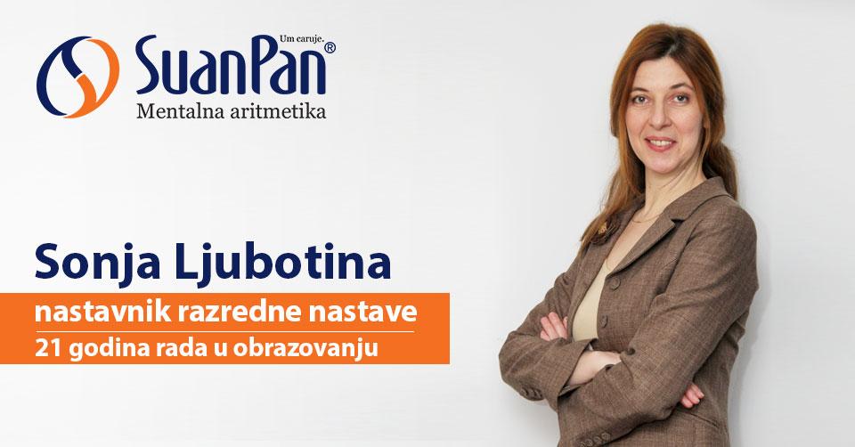 Predavač mentalne aritmetike Sonja Ljubotina