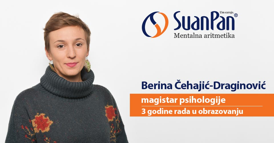 Predavač mentalne aritmetike Berina Čehajić-Draginović