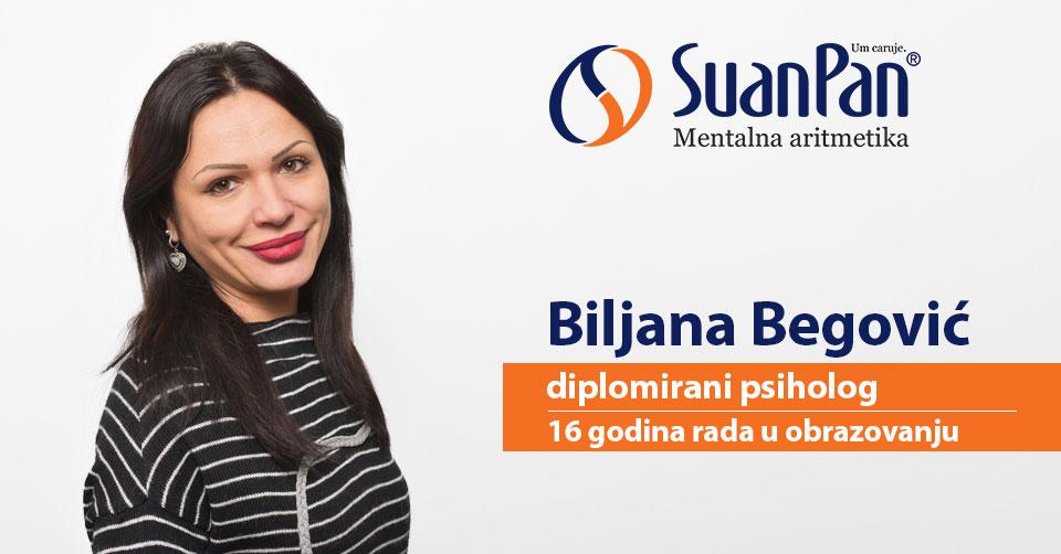 Predavač mentalne aritmetike Biljana Begović