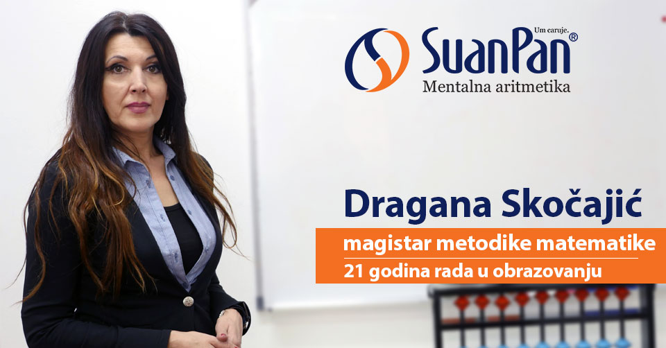 Predavač mentalne aritmetike Dragana Skočajić