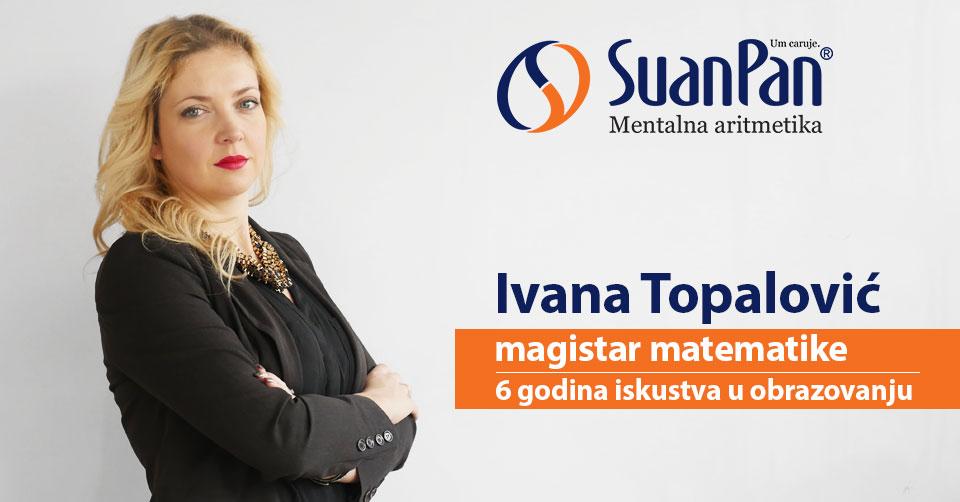 Predavač mentalne aritmetike Ivana Topalović