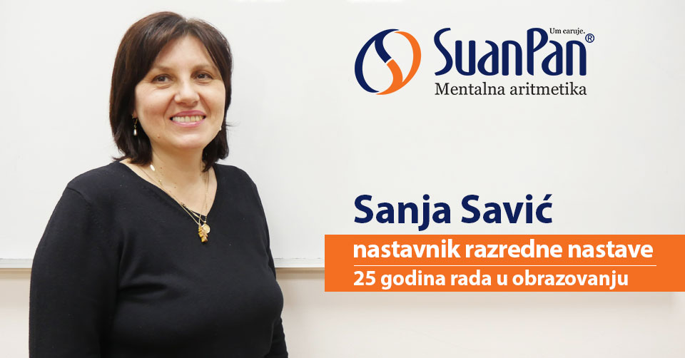 Predavač mentalne aritmetike Sanja Savić