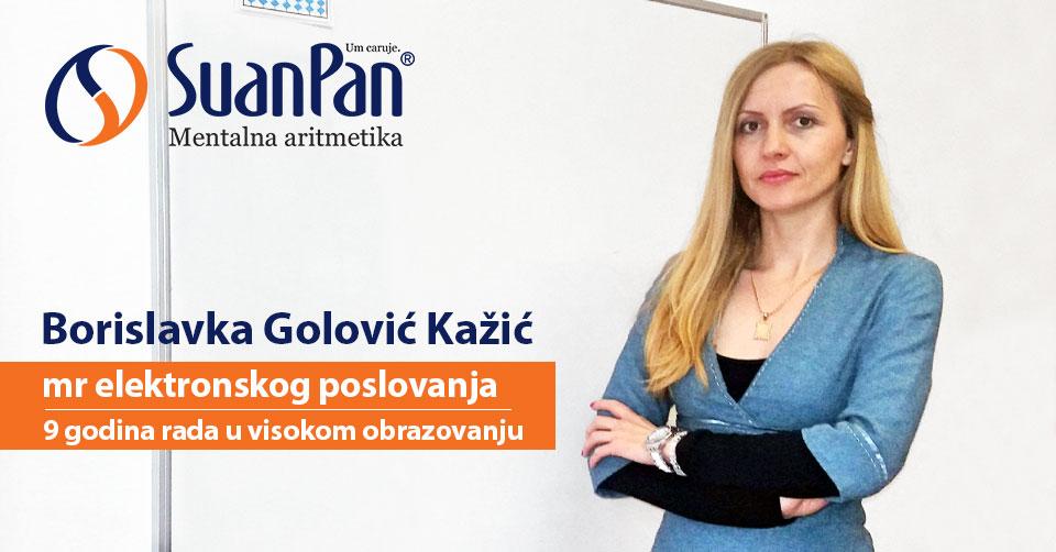 Predavač mentalne aritmetike Borislavka Golović Kažić