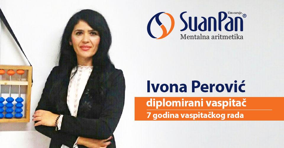Predavač mentalne aritmetike Ivona Perović